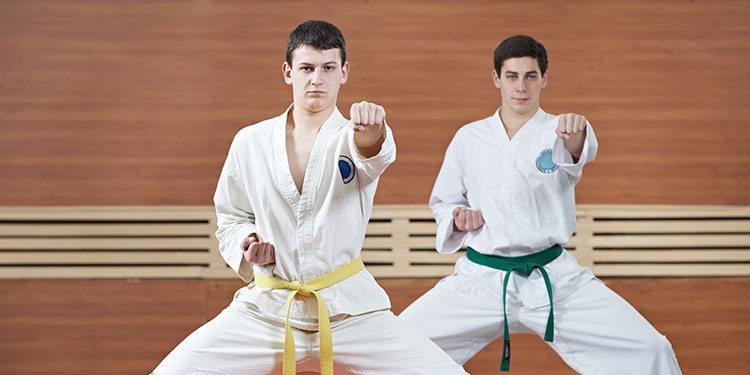 martial arts teens